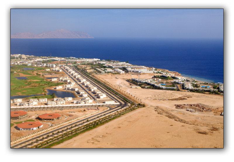 Descending at Sharm el Sheikh