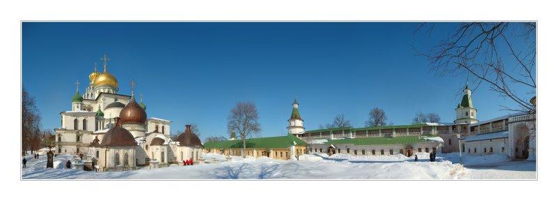 Novy Ierusalim monastery, 30 km from Moscow 8 shots