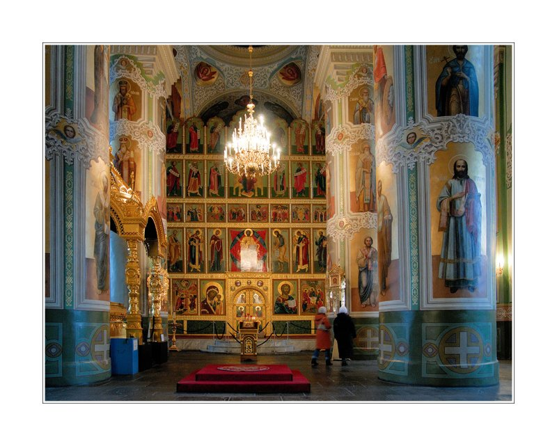 Kazan Kremlin, inside the Annunciation Cathedral