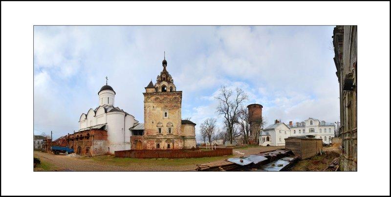 Vladimir regn, Kirzhach, Saint Annunciation woman monastery, 1354-1358