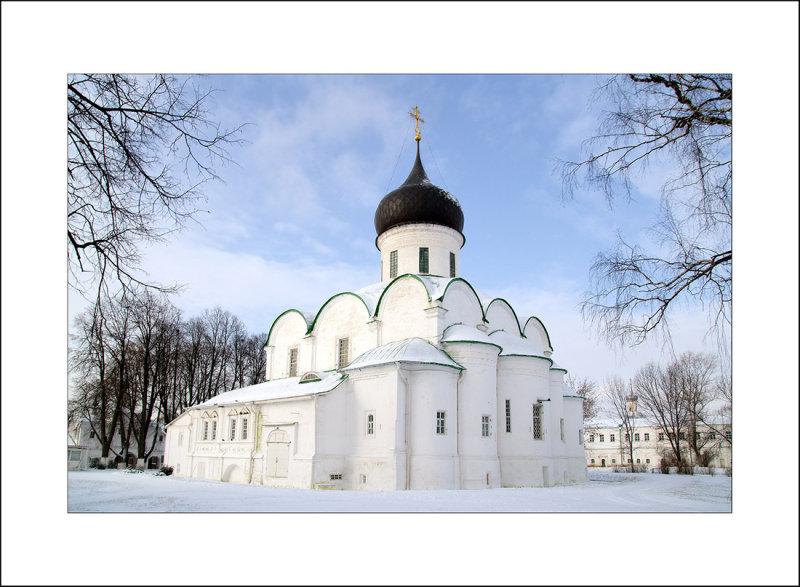 Vladimir region, Alexandrov, Troitsky (Trinity) cathedral 1513