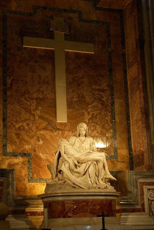Vaticano, Basilica di San Pietro, Pieta by Michelangelo