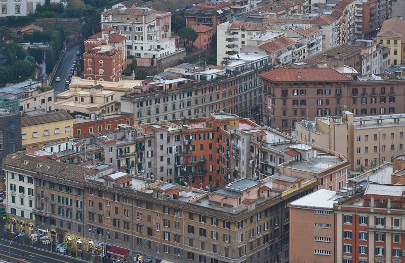 Roma from the roof of San Pietro