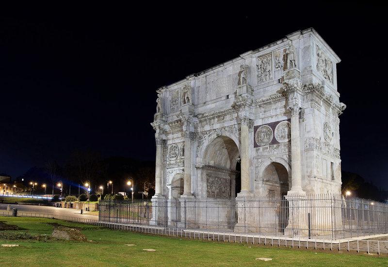 Roma, Arco di Costantino, 312 AD