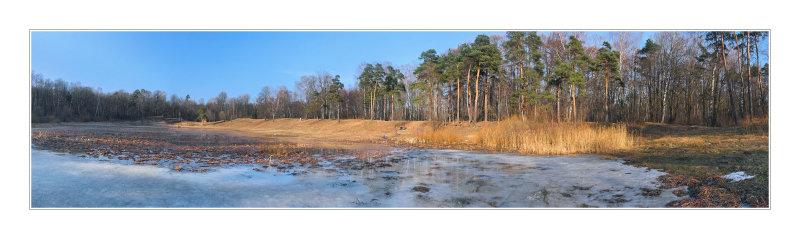 Izmailovsky Park, Oleny (deers) pond