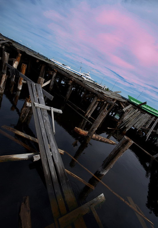 Petrozavodsk, old pier