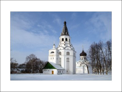 Vladimir region, Alexandrov, Raspyatskaya (the Crucifixion) Church-belfry (XVI)