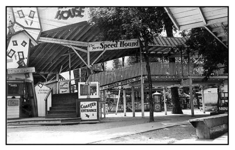 Speed Hound Entrance 1930s