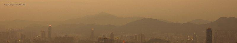 Kowloon Peninsula (view from Braemar Hill) - Ä_°¨¤sÁA±æ¤EÀs¥b®q 036