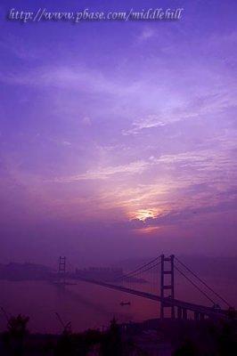 Tsing Ma Bridge - «C°¨¤j¾ô¤é¸¨