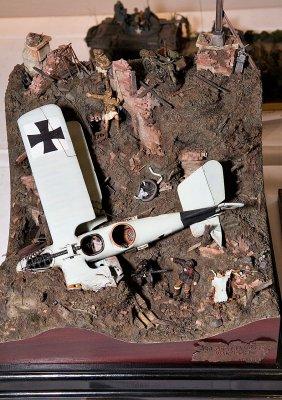 Flystyrt-diorama