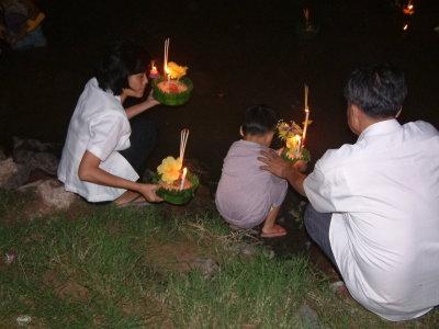 Loi Krathong Festival in Phitsanulok