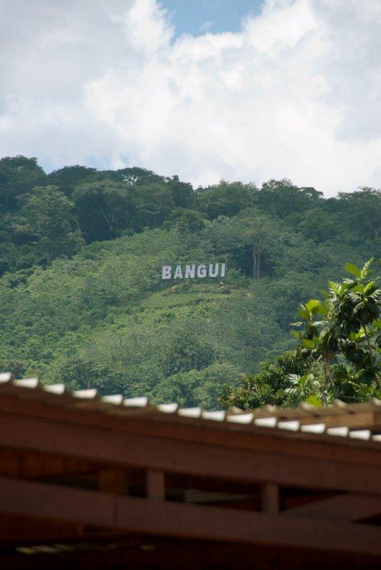 Bangui on the Oubangui