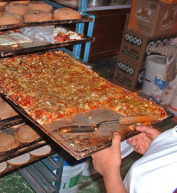 pizza vegetariana dAngelina