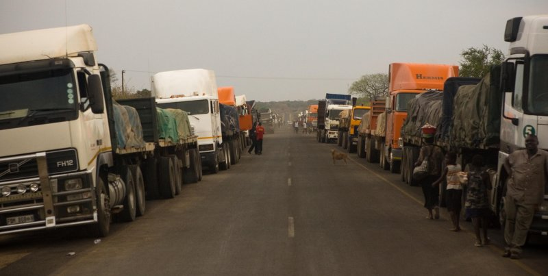 Border Crossing Zambia / Botswana