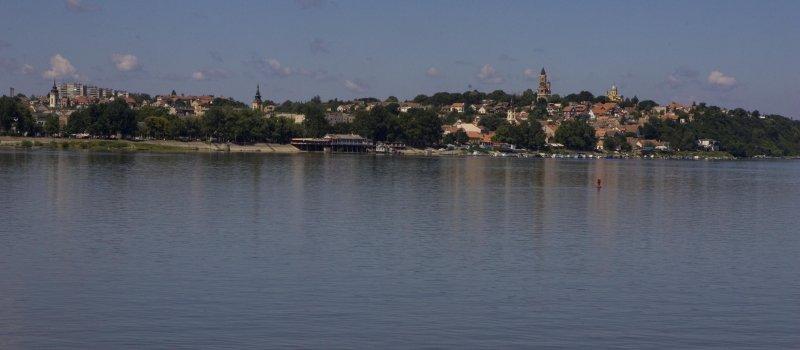 Belgrade From The Danube