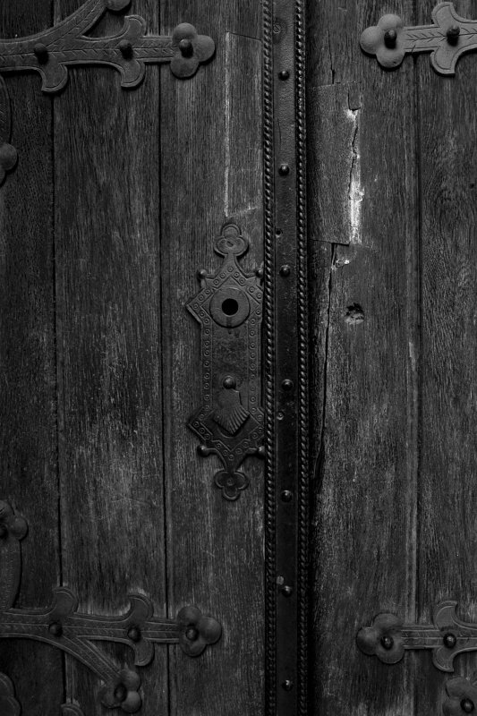 Synagogue Church Door. Novi Sad- Serbia