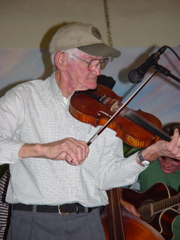 WE COULD HAVE LISTEN TO THE FIDDLE ALL NIGHT