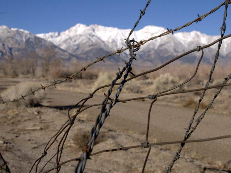 <B>Freedom Seen </B> <BR><FONT SIZE=2>Manzanar National Monument, California February 2007</FONT>