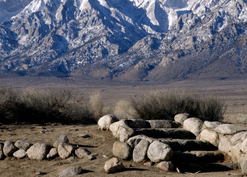 <B>Stairway</B> <BR><FONT SIZE=2>Manzanar National Monument, California February 2007</FONT>