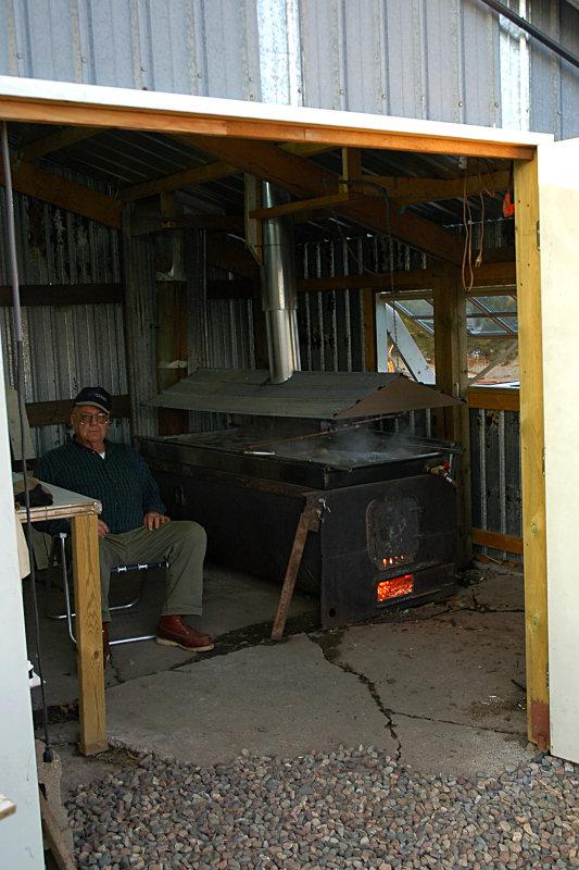The sugar shack - where it all happens