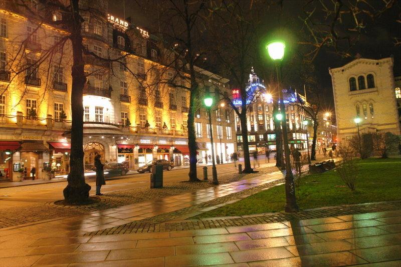 Karl Johans Gate - streetview