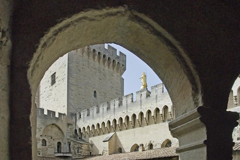 Avignon - Le palais