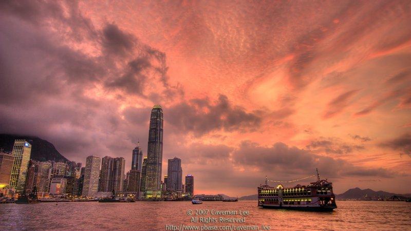 The Purple Sky (HDR version)