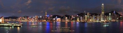 Hong Kong Pano at Night