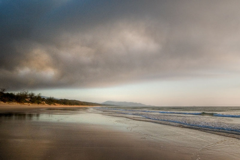 Storm before sunrise, Hinchinbrook Island DSCN1366
