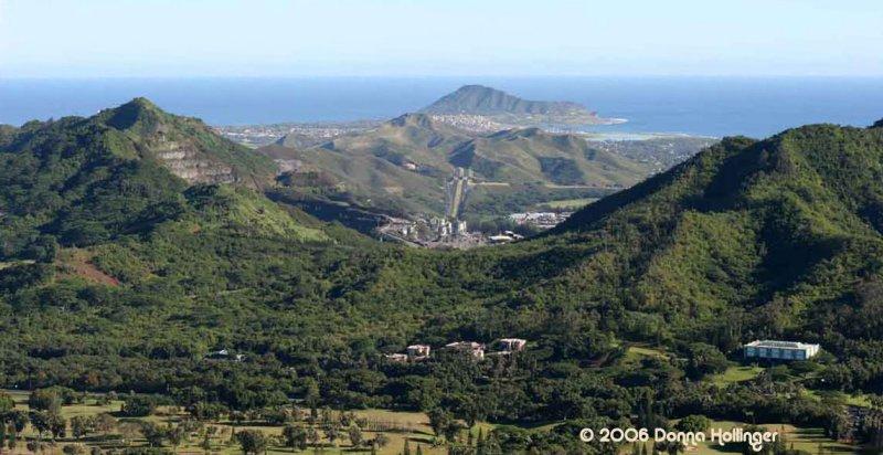Lookout on Oahu