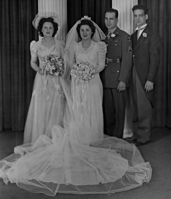 Minnie, Lena, Pat and Henry