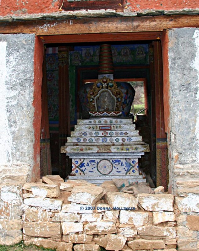 Country prayer site