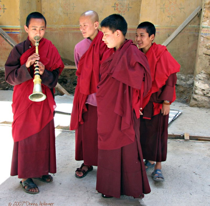 Monks Recital