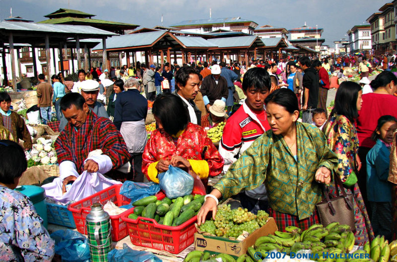 Market Day during the Festival