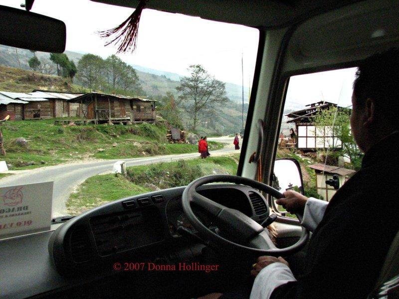 Wangdi driving