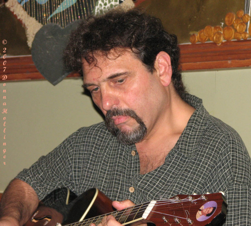 Henry Nigro Playing Guitar