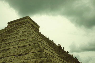 The pyramid of El Castillo, Chichen Itza
