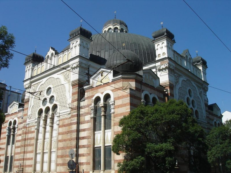 the city synagogue