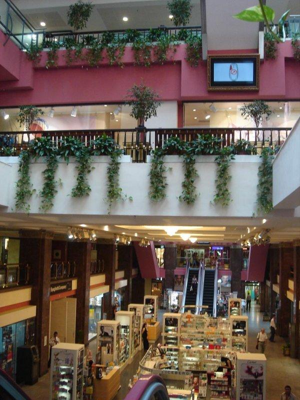 inside TZUM (the Central Department Store)