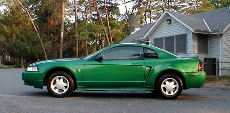 I Just Purchased This 2000 Mustang Coupe But Can T Find Another In Color Anywhere Any Evidence That Car Has Been Resprayed