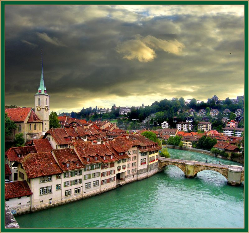 Rainy Morning In Bern, Switzerland