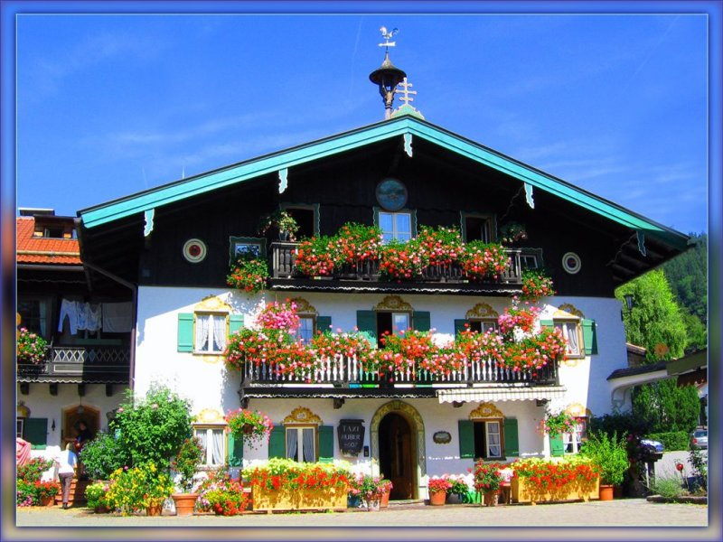 One Of The Kind  House In Schliersee , Bayern ( Lot Of Them In Fact... :-) )