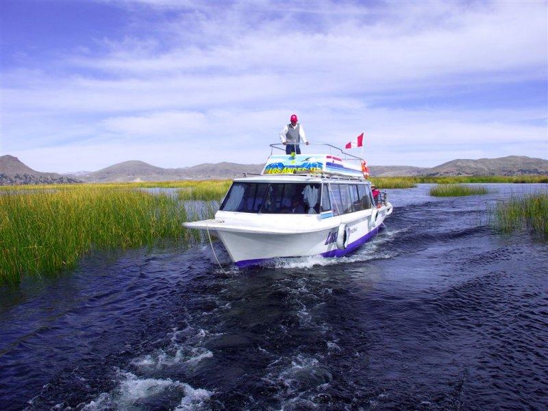 Boat Racing On Titicaca Lake