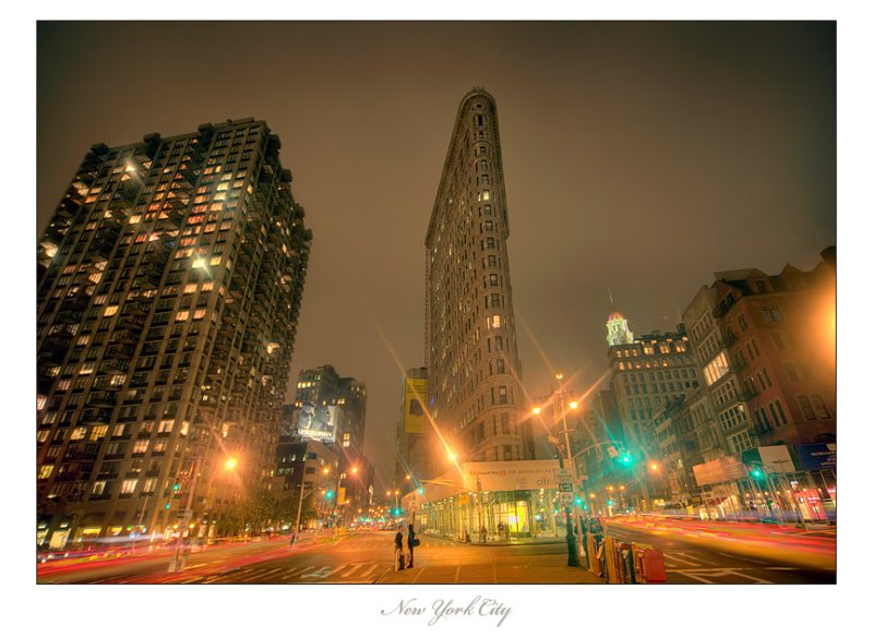 Flatiron Building :: Fifth avenue between 22nd and 23rd streets