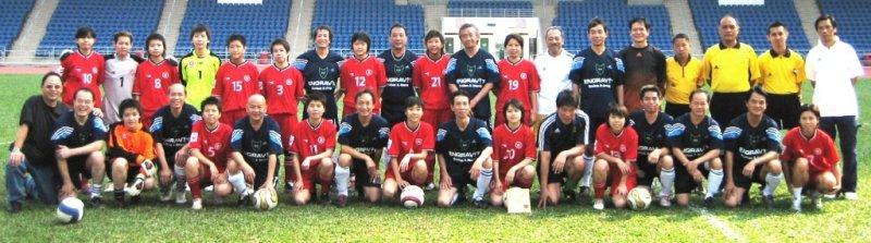 2006 TecBall with Hong Kong Womens Football Team