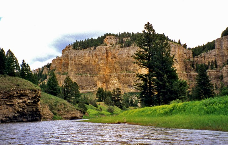 Bluffs Along the Smith