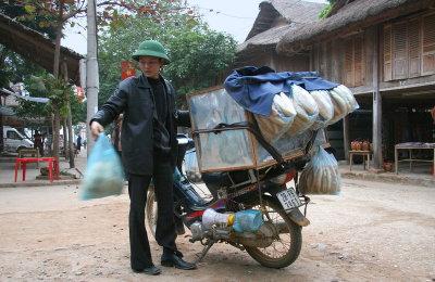 Boulangère ambulante - Mai Chau