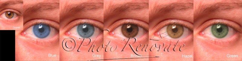 Enhancements - Change Eye Colour
