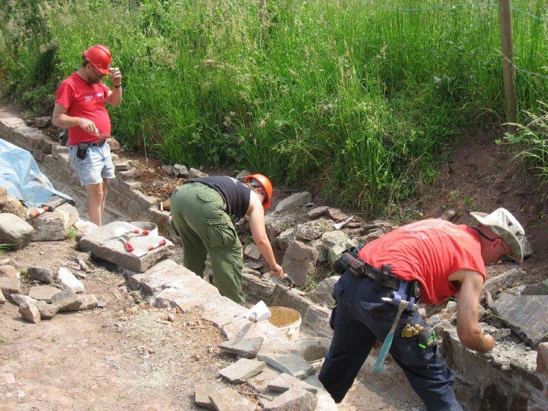 Formation stonelaying